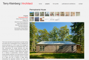 Terry Kleinberg | Architect, Home Page